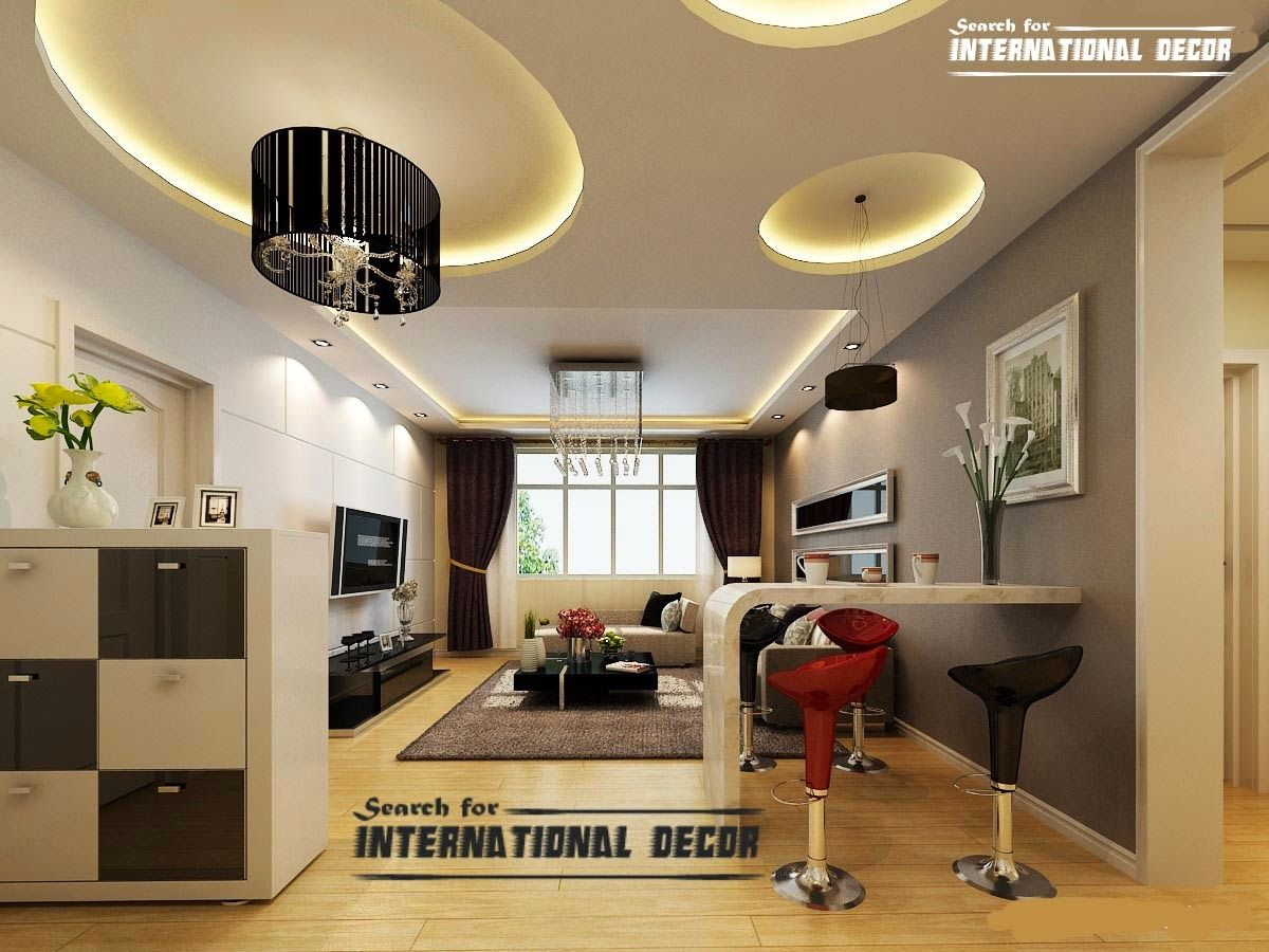 15 Modern Pop False Ceiling Designs Ideas 2015 For Living Room. Home  Decorating Trends Homedit Part 59