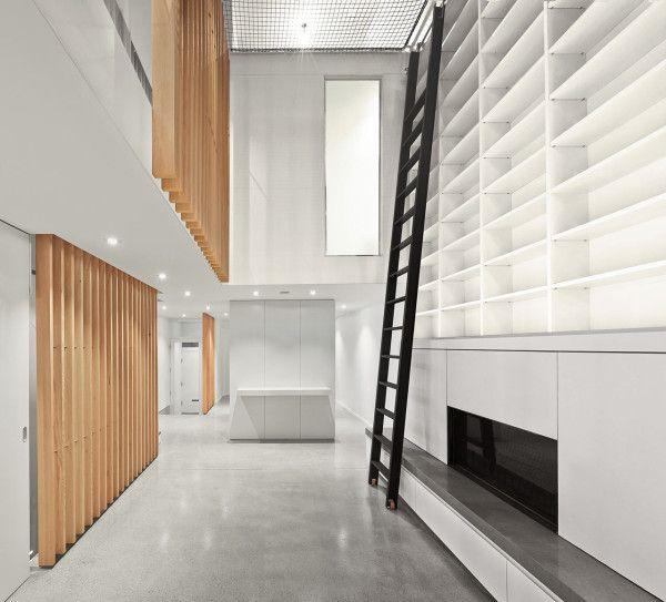 A Montreal Townhouse With A 32 Atrium Atrium Design House Design Residential Interior