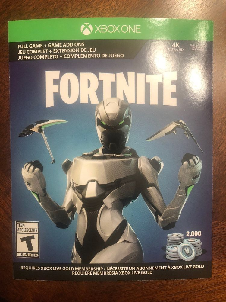 Xbox One #Fortnite Exclusive Eon Cosmetic Skin And 2000 V ...