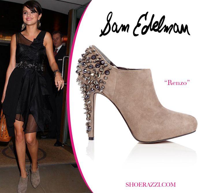 a416b26be Selena Gomez in Sam Edelman