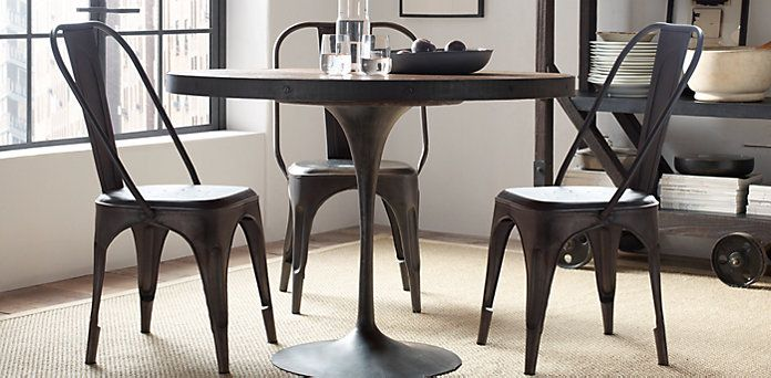 Love the negative space: Aero Round Dining Table ...