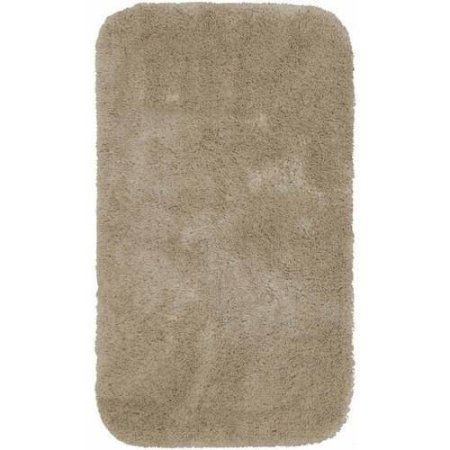 Mainstays Quick Dry Bath Rug Collection Brown Rugs And