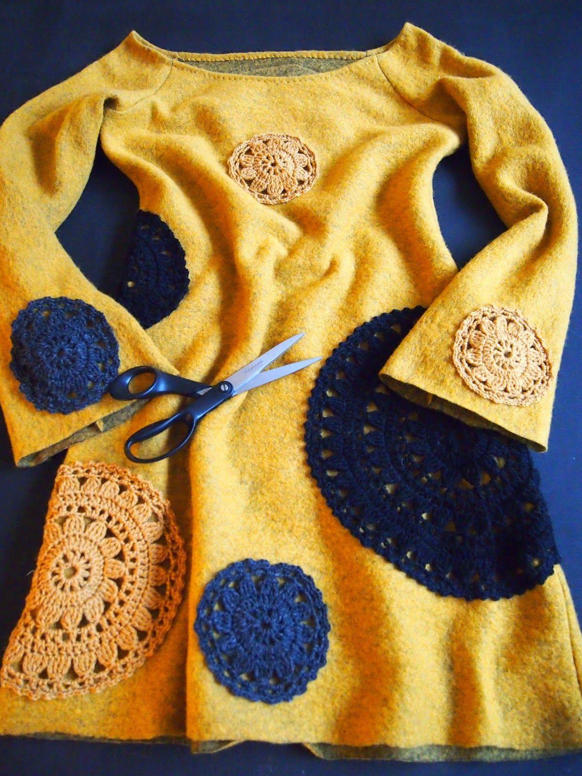 omⒶ KOPPA: Keltainen kukkaympyrämekko