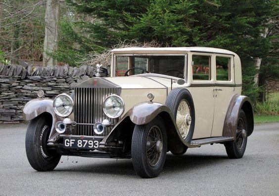 1930 Rolls-Royce Phantom II Harrison Saloon