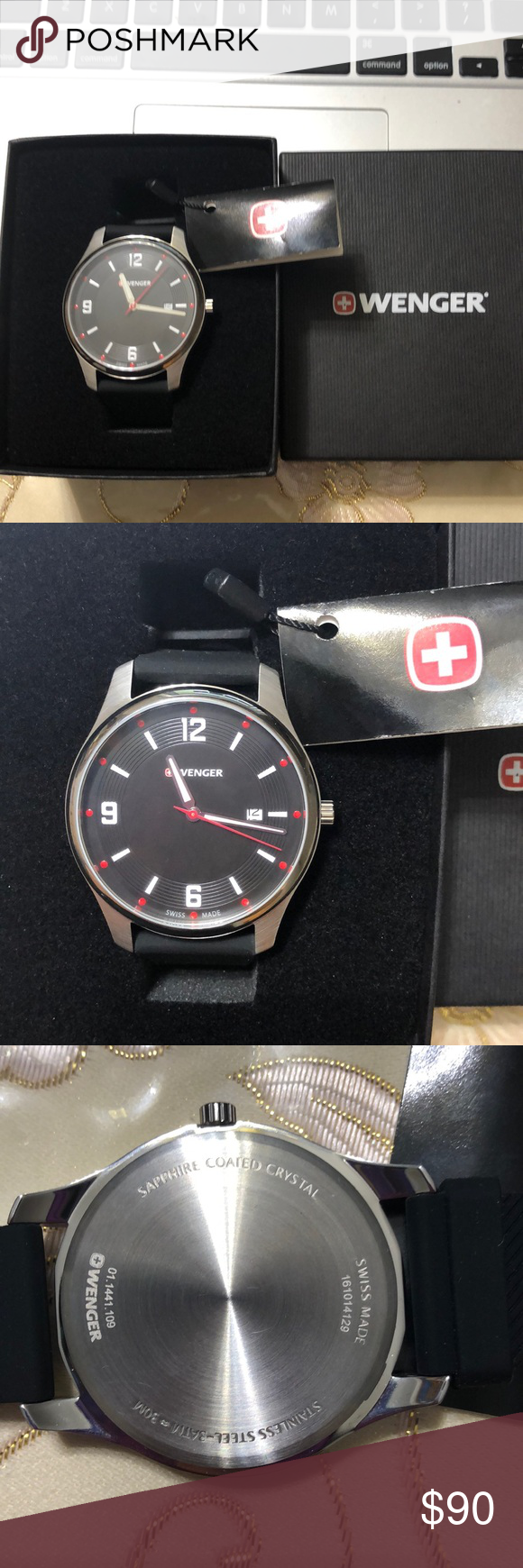 New Wenger Swiss Made Military Watch Military Watches Wenger Swiss Swiss Made