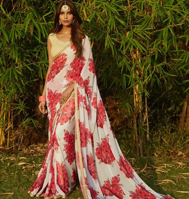 Wedding White Sarees Online: Bridal Sarees Online, Red And White