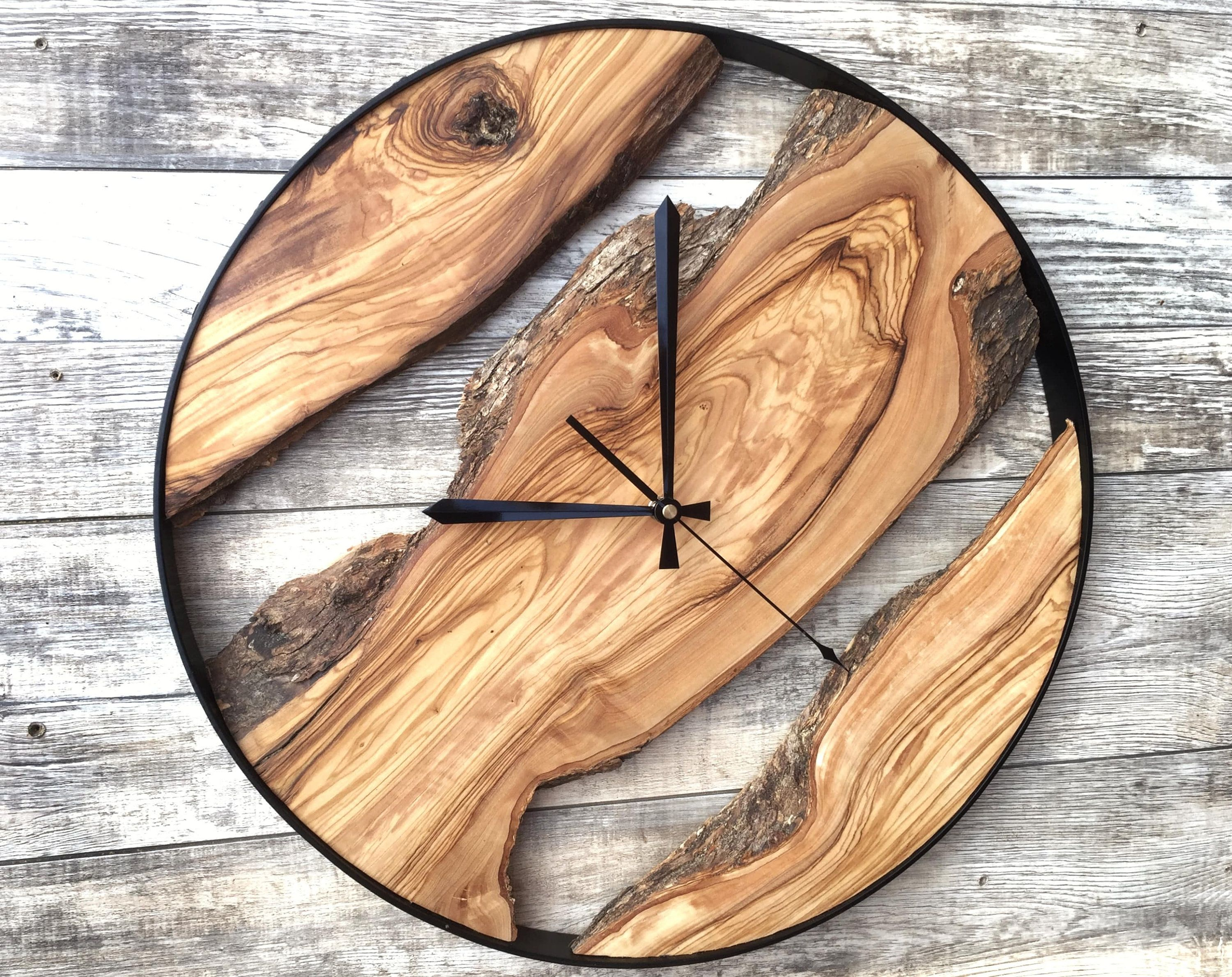 Clocks For Wall Wooden Wall Clock Wood Wall Clock Modern Wood Clock Large Clock Wall Unique Wall Clock Woo Rustic Wall Clocks Wood Wall Clock Wood Clocks