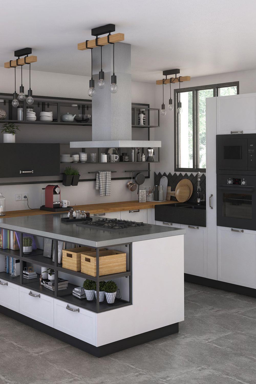 Trouvez La Cuisine Qui Vous Ressemble Et Adoptez La En 2020 Deco Cuisine Moderne Meuble Cuisine Cuisine Moderne