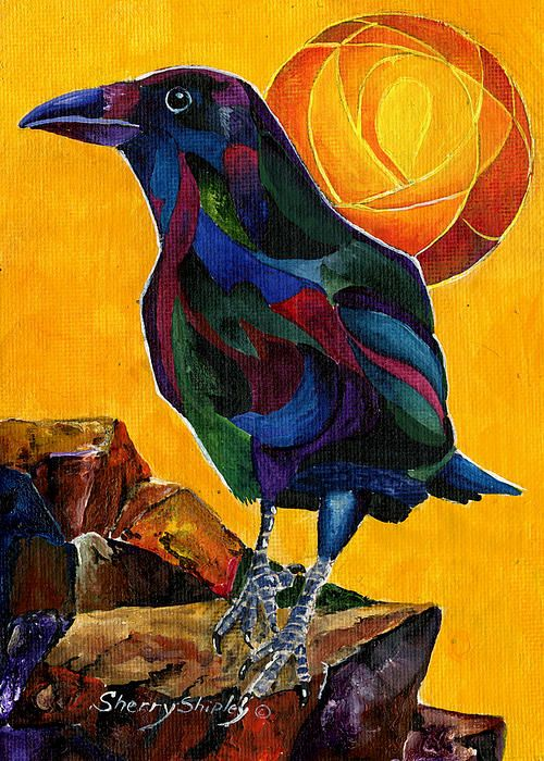 crow of color