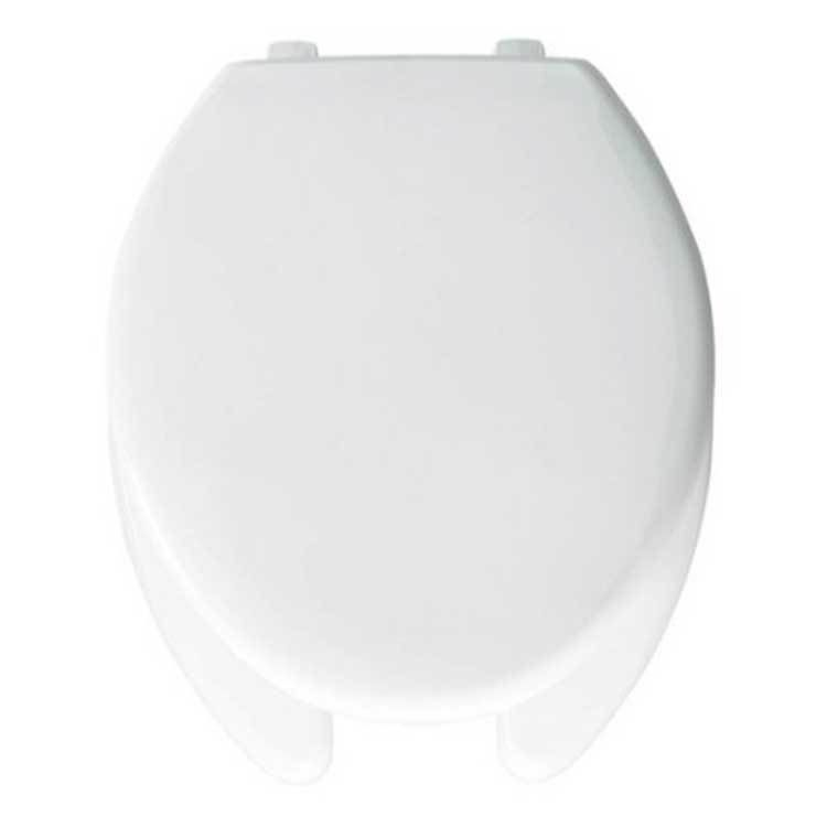 Elongated Open Front Toilet Seat With Lid White Toilet Seats