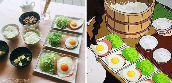 アニメの食べ物 おしゃれまとめの人気アイデア pinterest humi ジブリ飯 料理 食べ物のアイデア