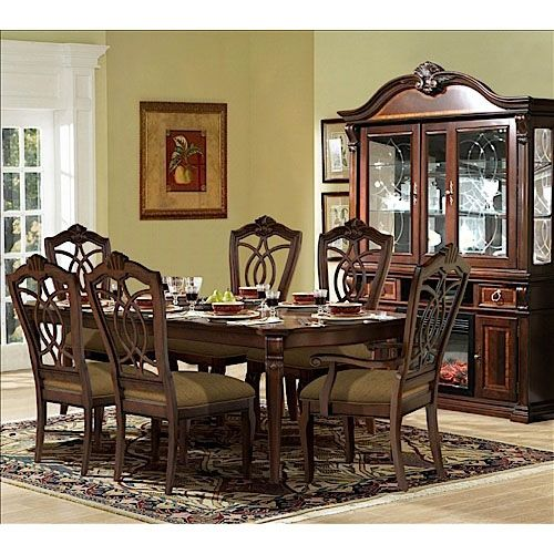 Traditional Cherry Dining Room Furniture Group From Riversedge Alluring Traditional Dining Room Sets Cherry Decorating Inspiration