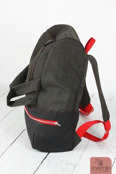 Ein Rucksack BigKlapPack für meinen Mann. Plus Video-Nähanleitung ...