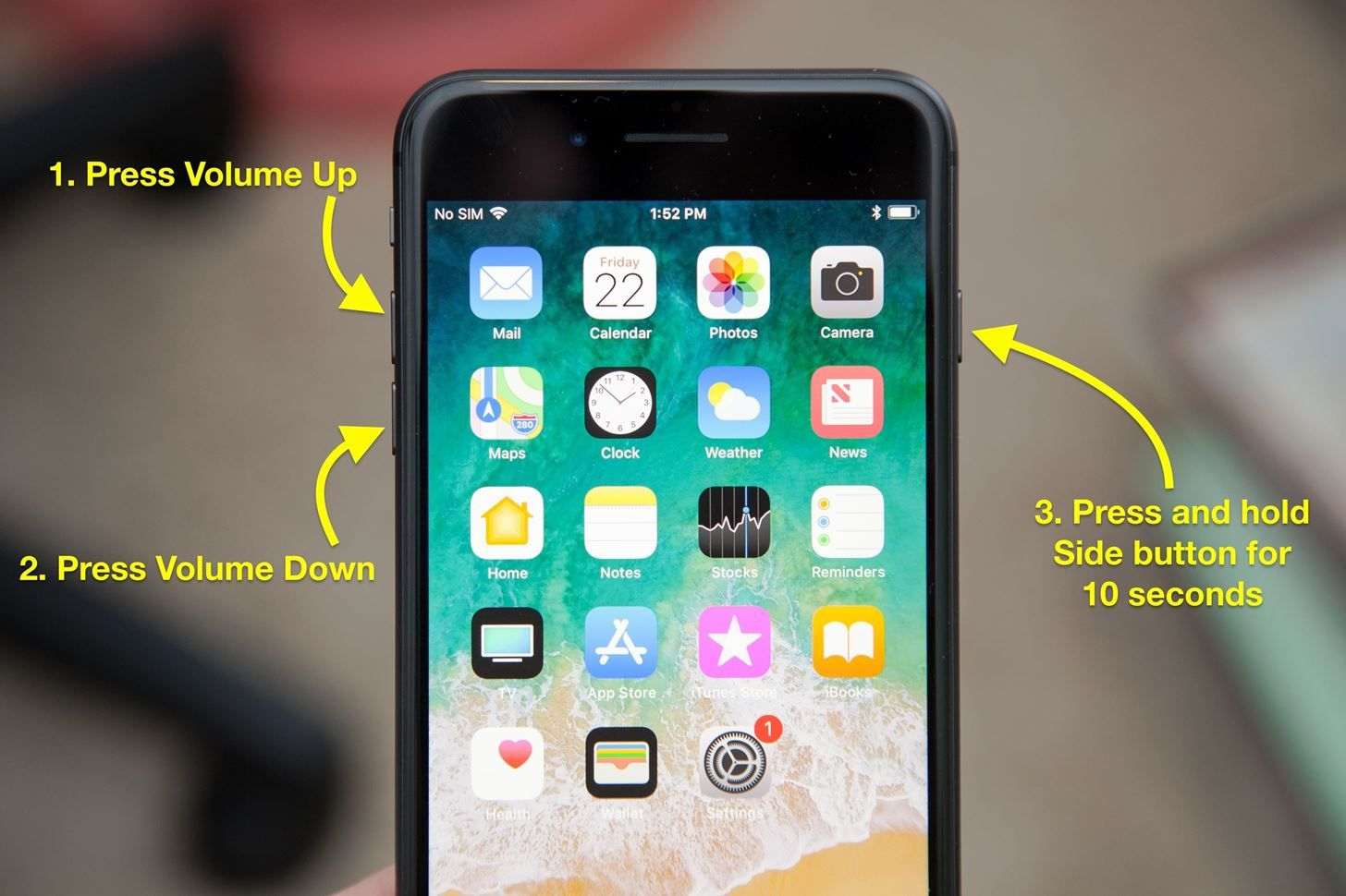 iPhone8 forcerestart How to Force Restart iPhone 8