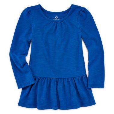 Okie Dokie® Peplum Tee - Toddler Girls 2t-5t  found at @JCPenney