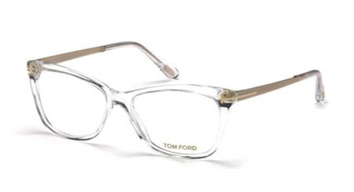 4947a53b59fe New Tom Ford Eyeglasses Unisex FT5353026 Acetate Transparent 52 15 140  Authentic
