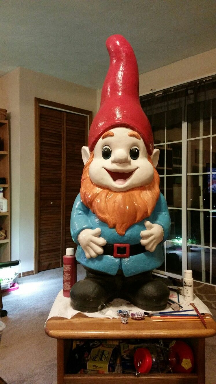Ginger Garden Gnome   Cranks Crafts & things!   Pinterest   Craft ...