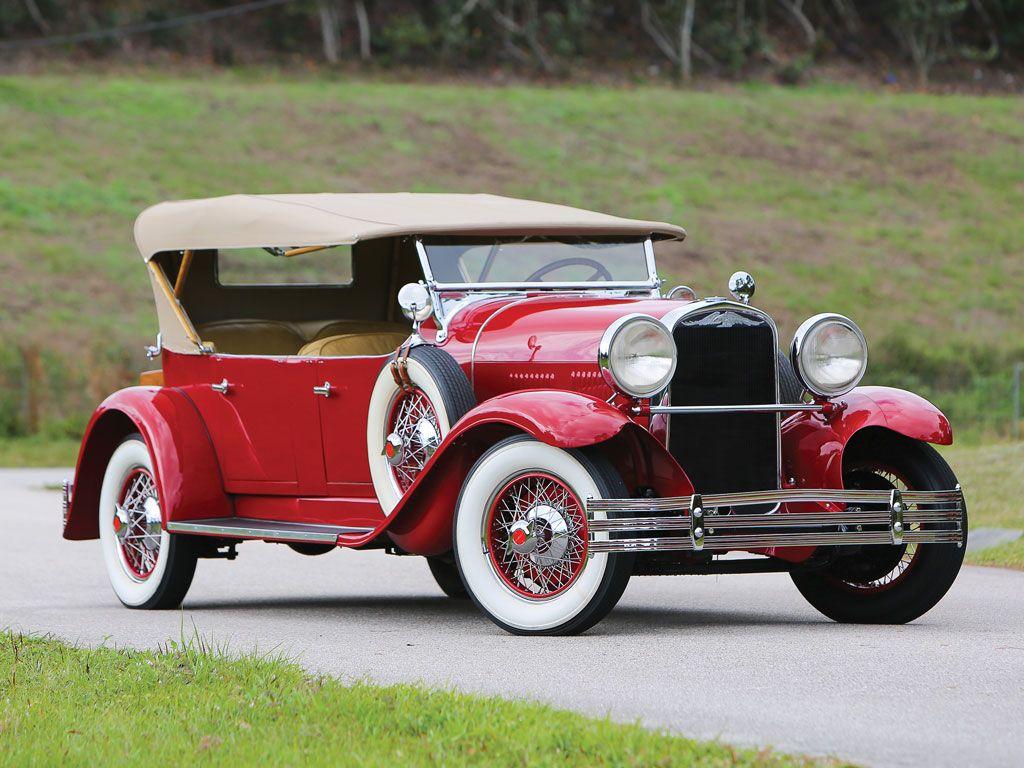 1929 Kissel Model 8-95 White Eagle Tourster - (Kissel Motor Car ...