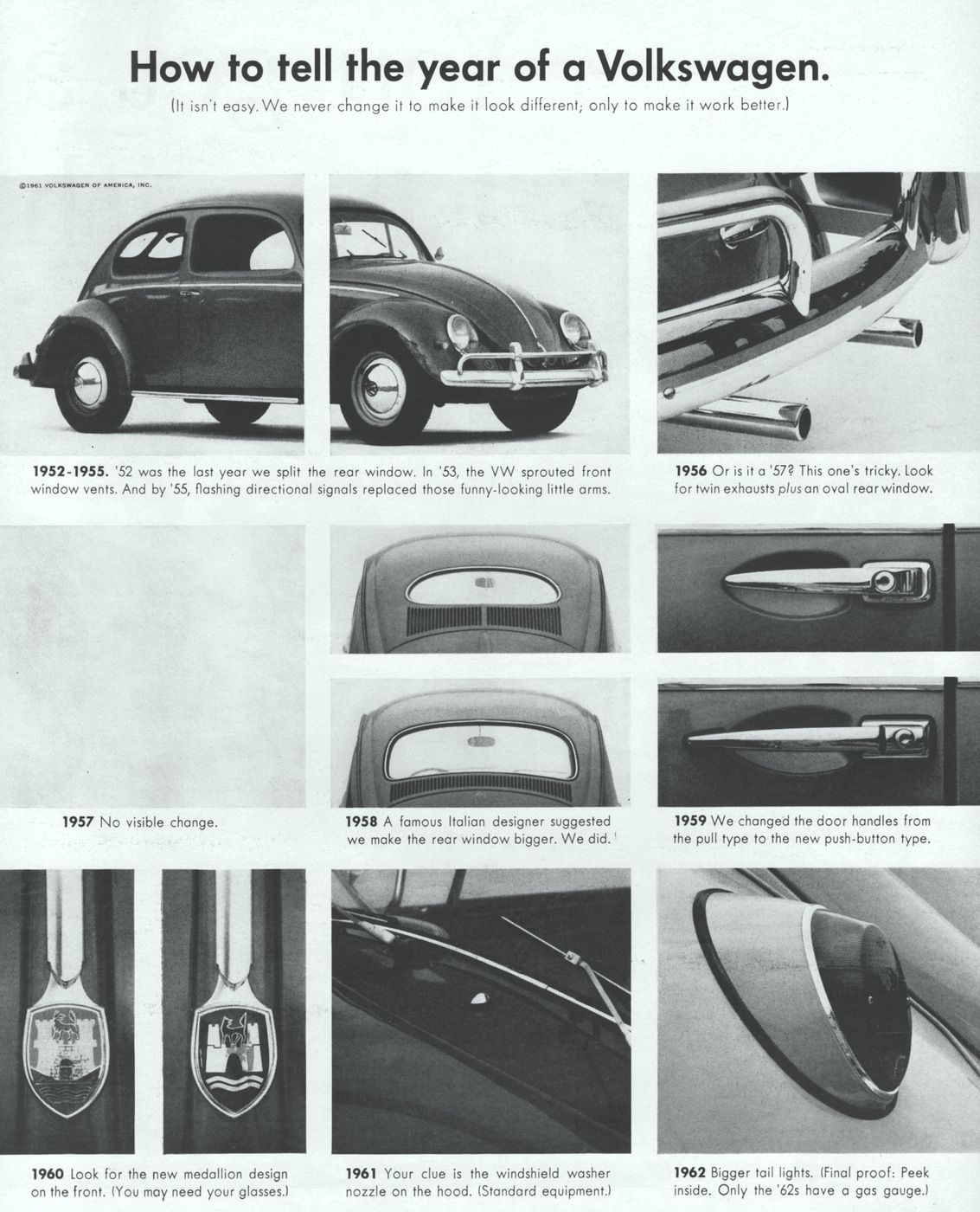 Vw Bug How To Tell The Year 1 Jpg 1133 1400 Mobil Impian Vw Beetle Mobil