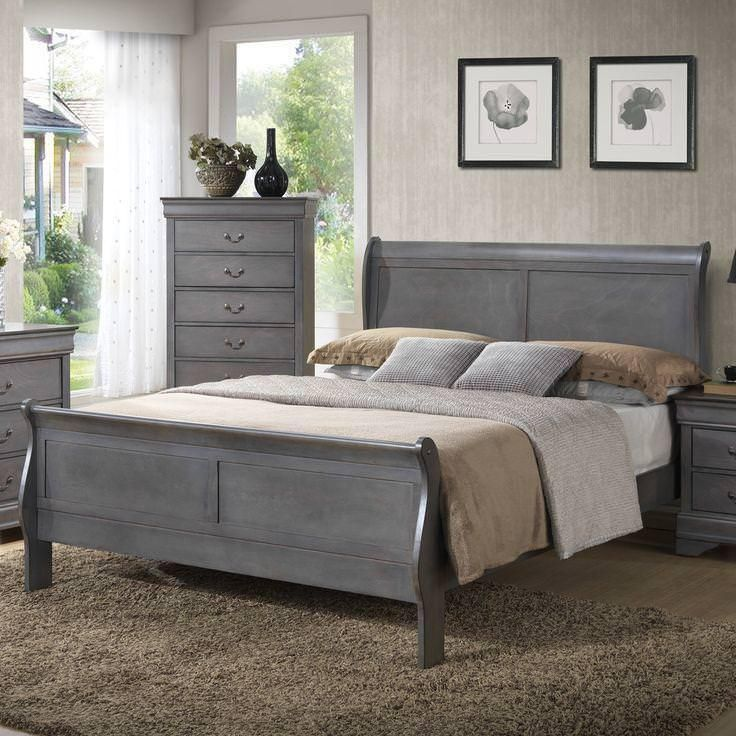 Image Result For Chalk Paint Sleigh Bed Modern