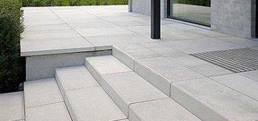 Megasmooth trap 100x15x40 grey velvet definitief for Trap tuin aanleggen
