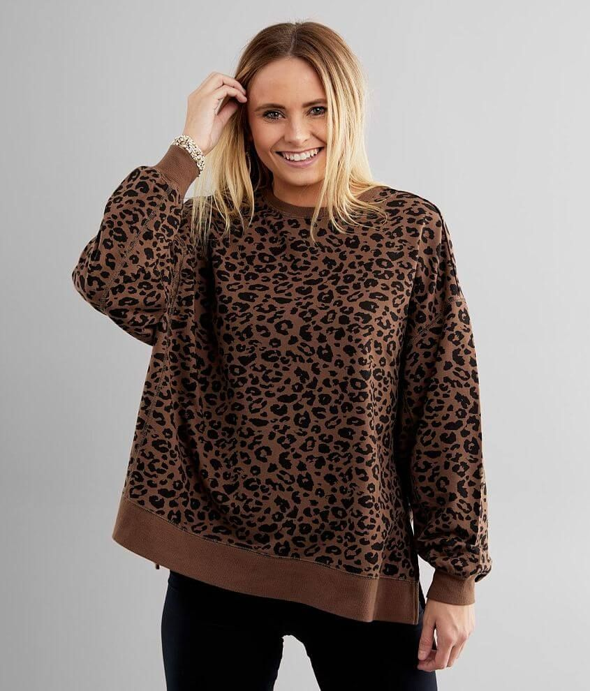 White Crow Modern Cheetah Weekender Pullover - Wom