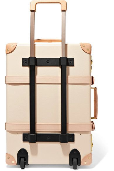 e0200d7ae33aa Globe-Trotter - Safari 20   Leather-trimmed Fiberboard Travel Trolley -  Cream