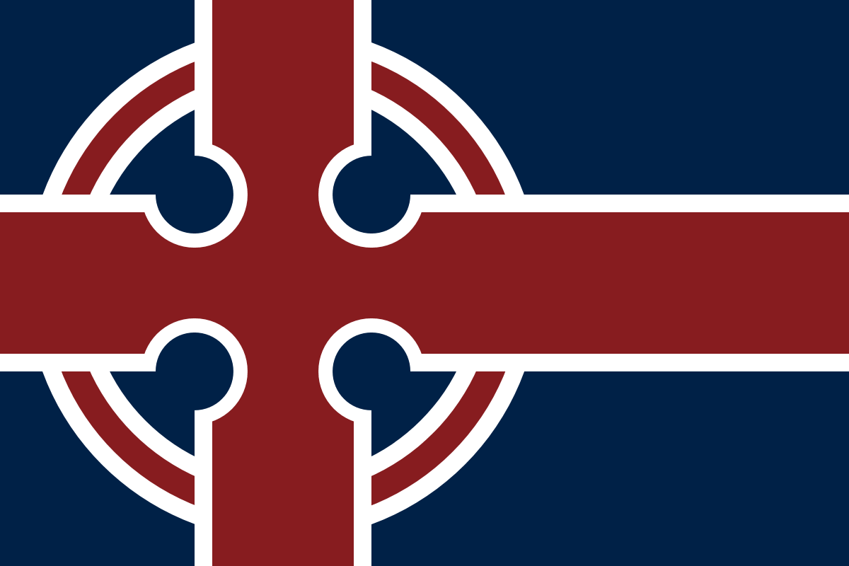 Nordic Flags With Celtic Crosses Unique Flags Flag Nordic