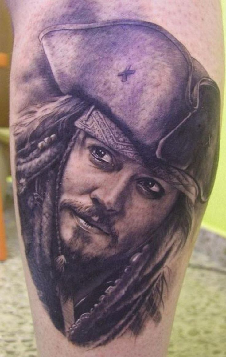 Tatuaje Calavera Johnny Depp people have johnny depp characters as tattoos 13 photos morably