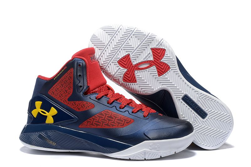 a467876ff61 Woman s Under Armour UA ClutchFit Drive 2 Basketball Shoes Navy Red ...