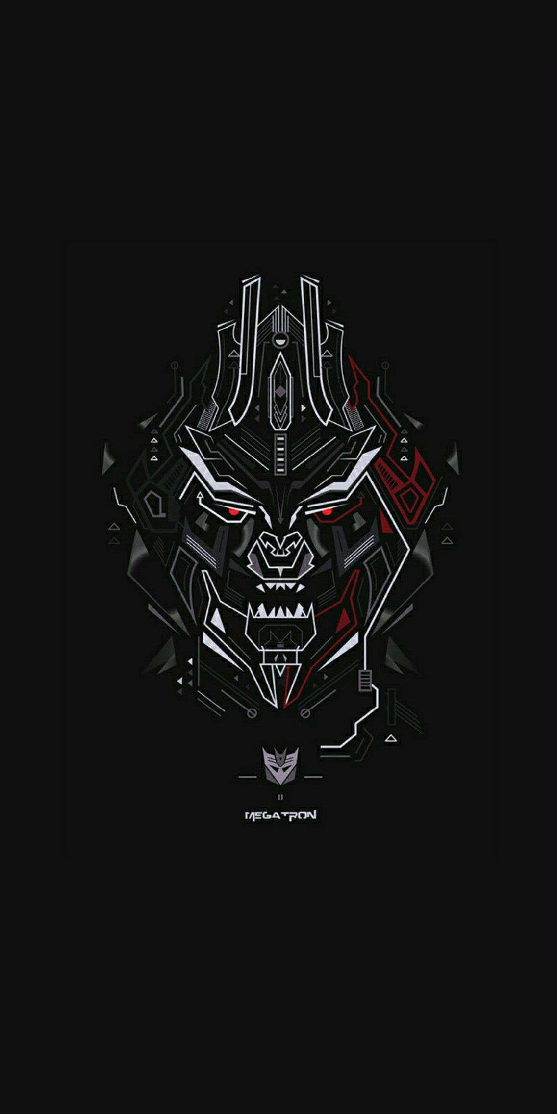 Megatron Iphone Wallpaper Graffiti Wallpaper Oneplus Wallpapers
