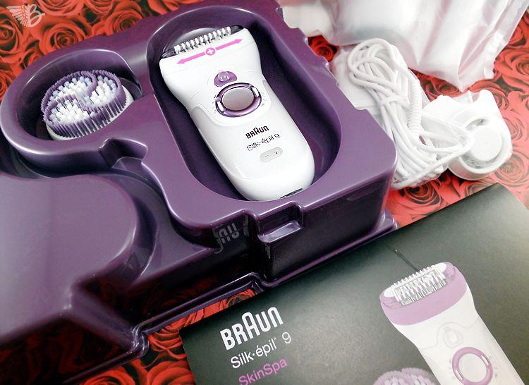 Braun Silk Epil 9 Skinspa Epilierer Review Epilieren Enthaarung Braun Silk Epil