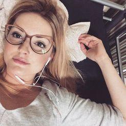 Medium/Large Fashion Eyeglasses Frames - Imagine in Onyx