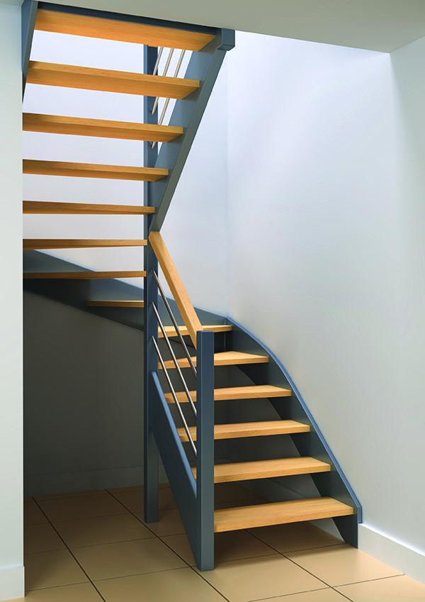 r sultat de recherche d 39 images pour escalier hetre peint. Black Bedroom Furniture Sets. Home Design Ideas