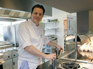 Chef-kok Bon-Bon: 'Jongensdroom komt uit'