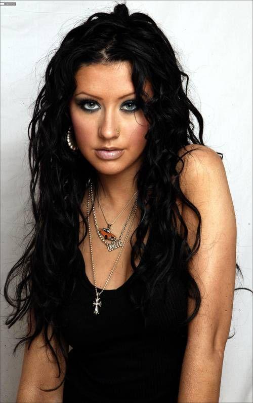 christina aguilera black hair   Christina Aguilera Black Hair ...