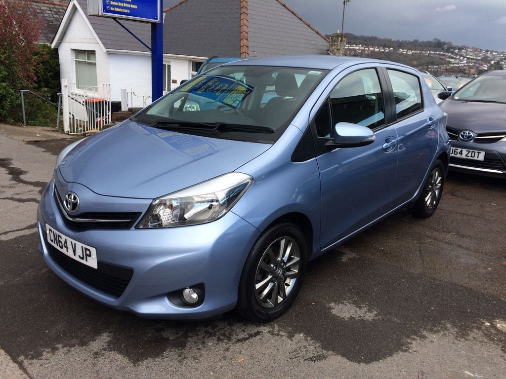 USED 2014 64 TOYOTA YARIS 1.4 D4D Icon+ (Smart pack) 5dr