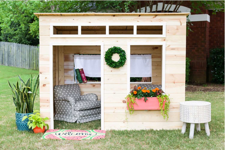 16 Free Backyard Playhouse Plans For Kids Kids Indoor Playhouse Diy Playhouse Indoor Playhouse Backyard playhouse plans free