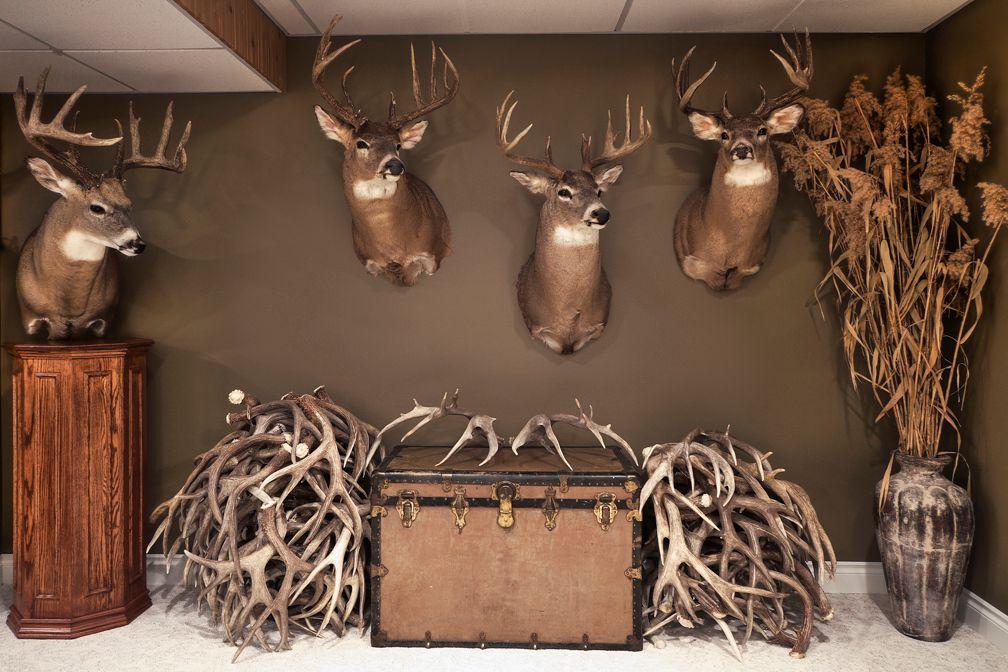 Trophy Room Alberta Outdoorsmen Forum Trophy Rooms Hunting Room Man Cave Home Bar