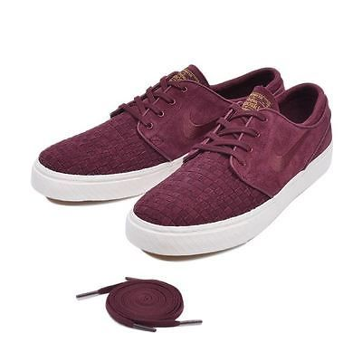 Nike SB Zoom Stefan Janoski Elite Mens 725074-661 Maroon Skate Shoes Size 10 cd9ad7971