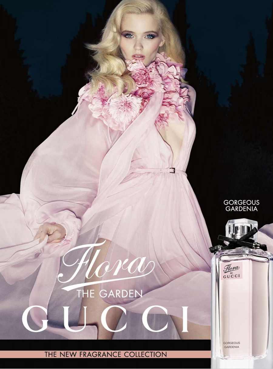 d574aa2d30f Abbey Lee Kershaw for Gucci Flora The Garden Collection