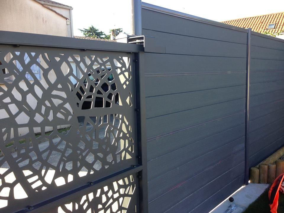 Camellya portail d coupe laser camellya pinterest for Laser sur facade