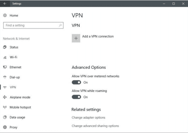 Vpn Allow Other Users To Use This Connection
