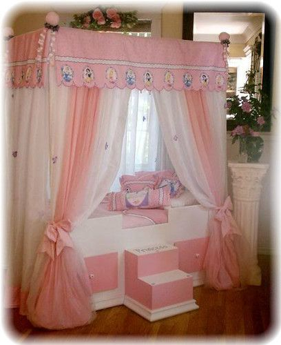 Princess Kids Bedroom Sets Interior Of Master Bedroom Newborn Boy Bedroom Ideas Bedroom For Kids: Details About Bed Toddler Disney Canopy Children Delta