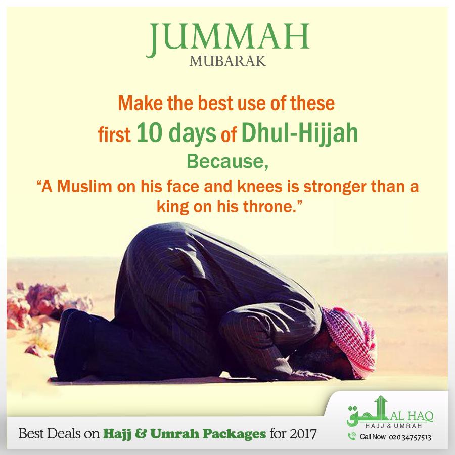 Dhul Hijja 2019 Calendrier.Jummamubarak Muslim Brothers And Sisters Make The Best