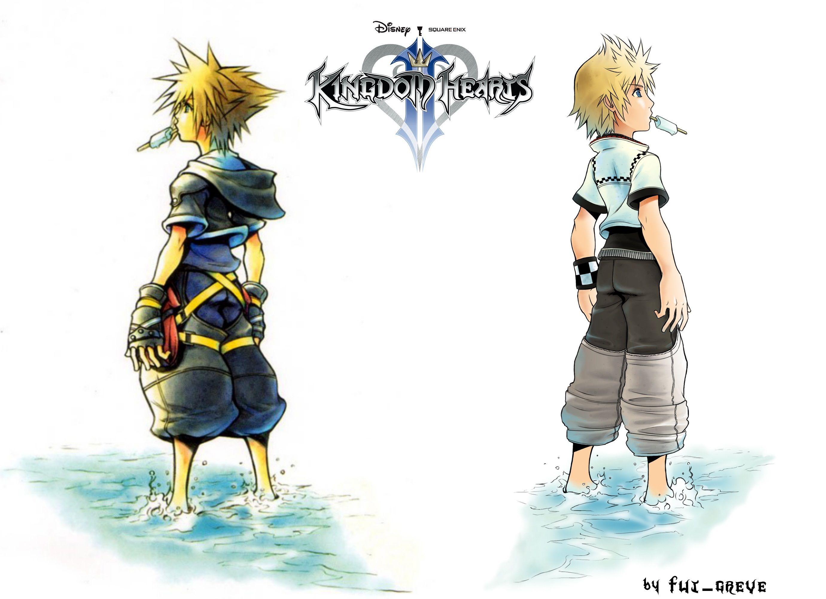 Https Orig00 Deviantart Net F13d F 2012 118 9 4 Kingdom Hearts 2 Sora And Roxas Wallpaper Sora Kingdom Hearts Kingdom Hearts Wallpaper Kingdom Hearts Fanart