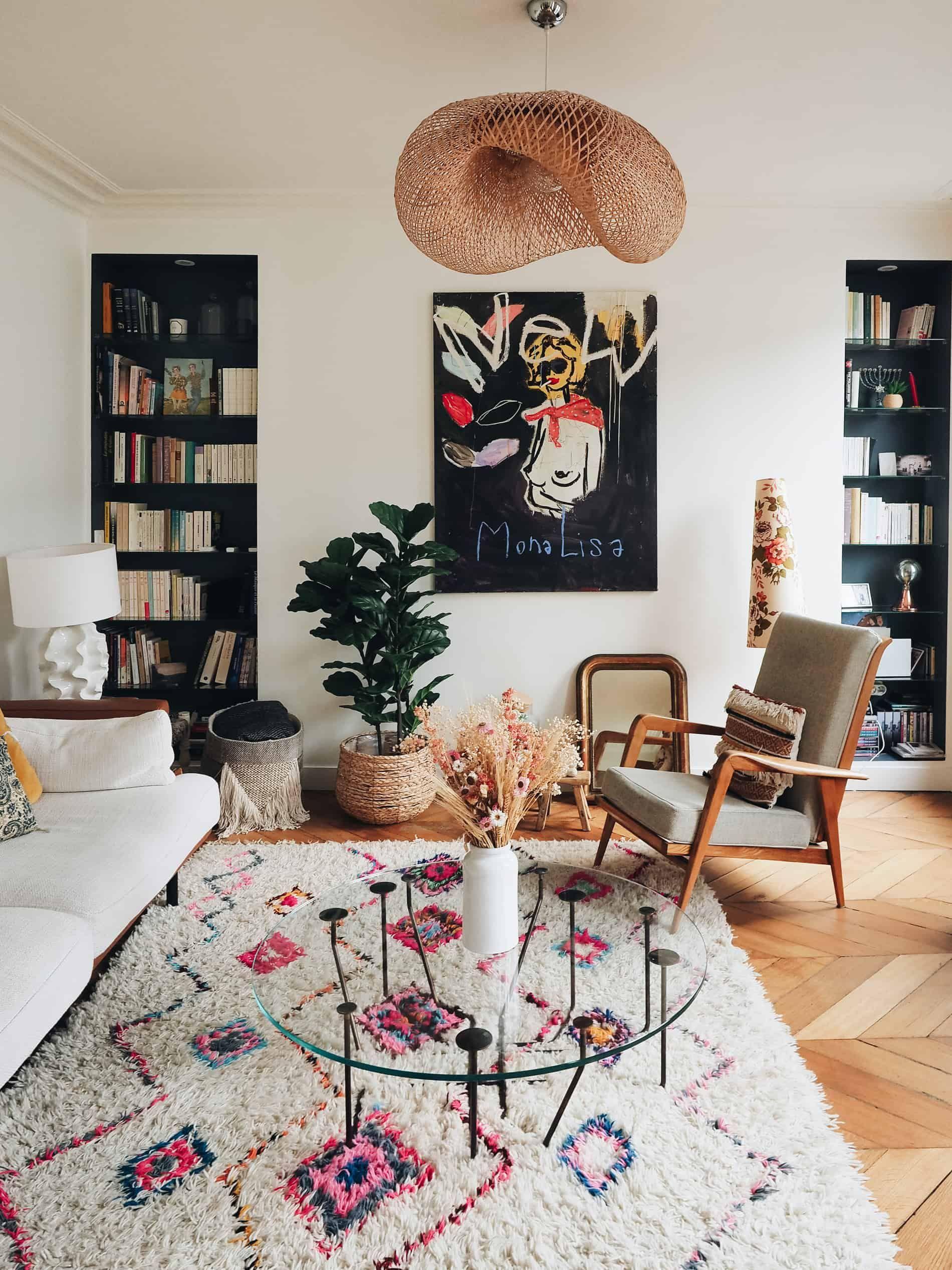 Photo of Un appartement à l'ambiance boho et vintage