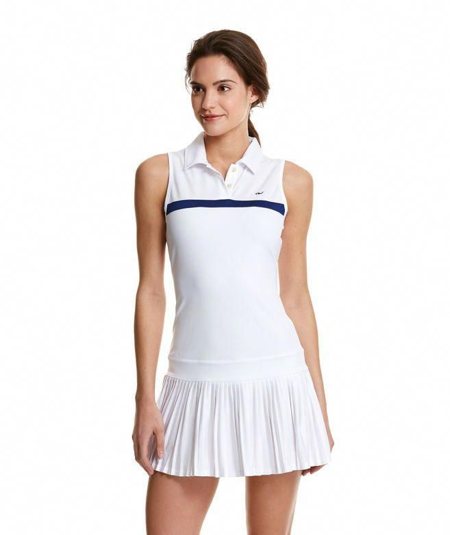 2bb4623007 White Tennis Dress // Vineyard Vines #tennisworkout | Tennis Workout ...