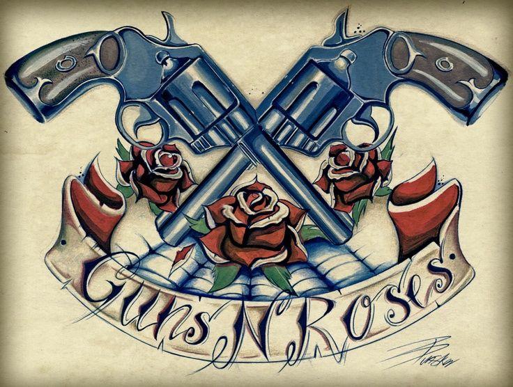 guns n roses tattoo google search guns n roses pinterest tattoo and tatoos. Black Bedroom Furniture Sets. Home Design Ideas