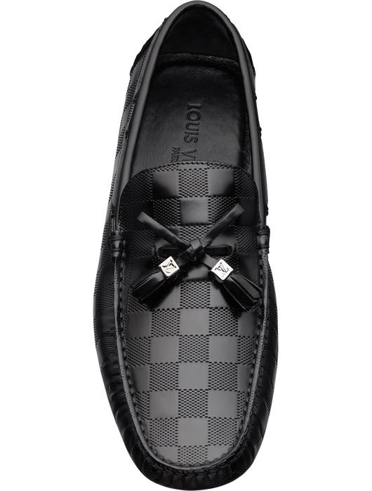 Imola loafer in Damier Embossed Leather